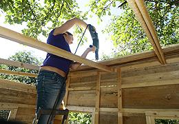 Baumhaus bauen