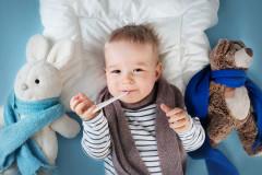 Baby-Erkältung