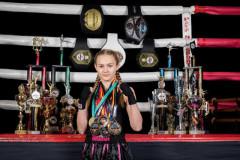 Die Prinzessin des Kickboxens