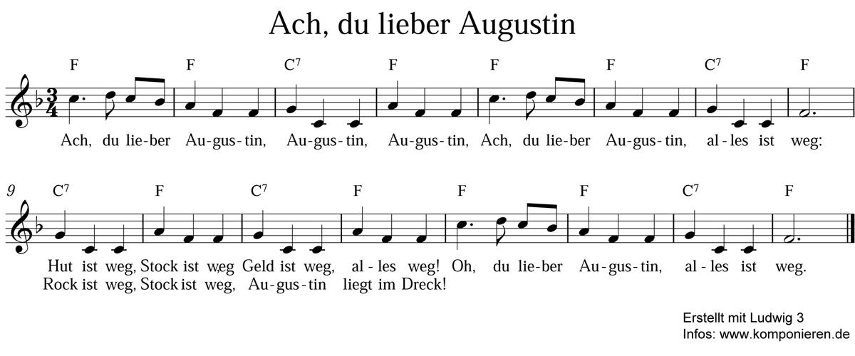 Ach du lieber Augustin
