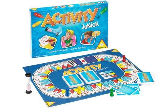 Spiele für den Kindergeburtstag: Activity Junior