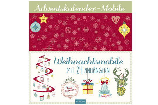Adventskalender-Mobile von Ars Edition