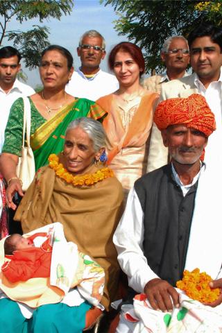 Älteste Mutter: Rajo Devi ist die älteste Mutter der Welt