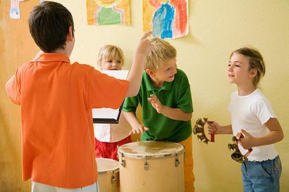 AG an Grundschulen: Kinder machen Musik