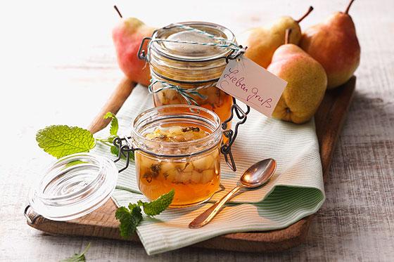 Apfel Birnen Konfitüre rezept
