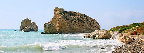 Aphrodite-Felsen: Dreimal drumherum - und Sie werden mit ewiger Liebe belohnt