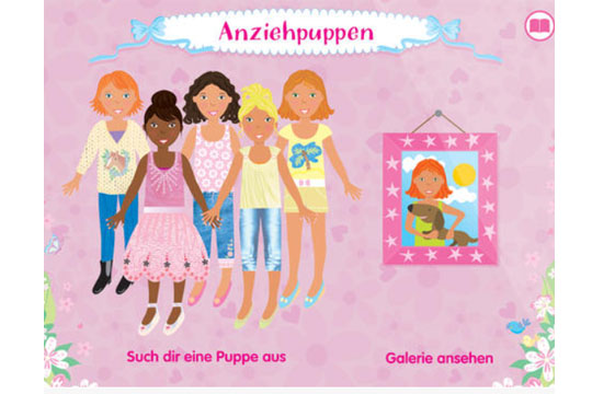 Apps für Kinder: Anziehpuppen-App