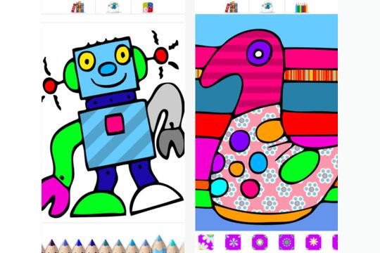 Apps für Kinder: Colorama