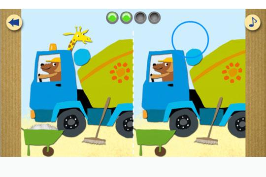 Apps für Kinder: Meine erste App - Fahrzeuge