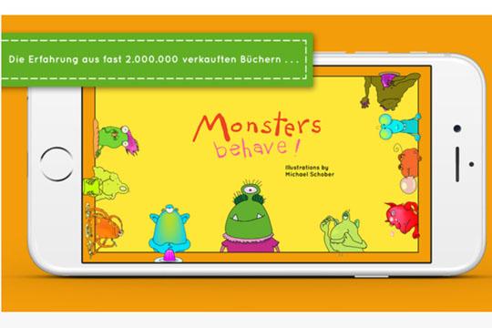 Apps für Kinder: Monsters behave