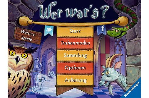 Apps für Kinder: Wer war's?