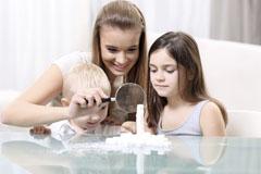 Kinderbetreuung durch ein Au-pair