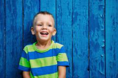 Farbwirkung auf Kinder: Blau