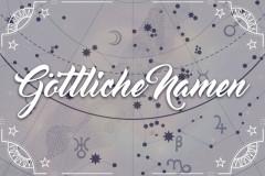 Die schönsten Götternamen