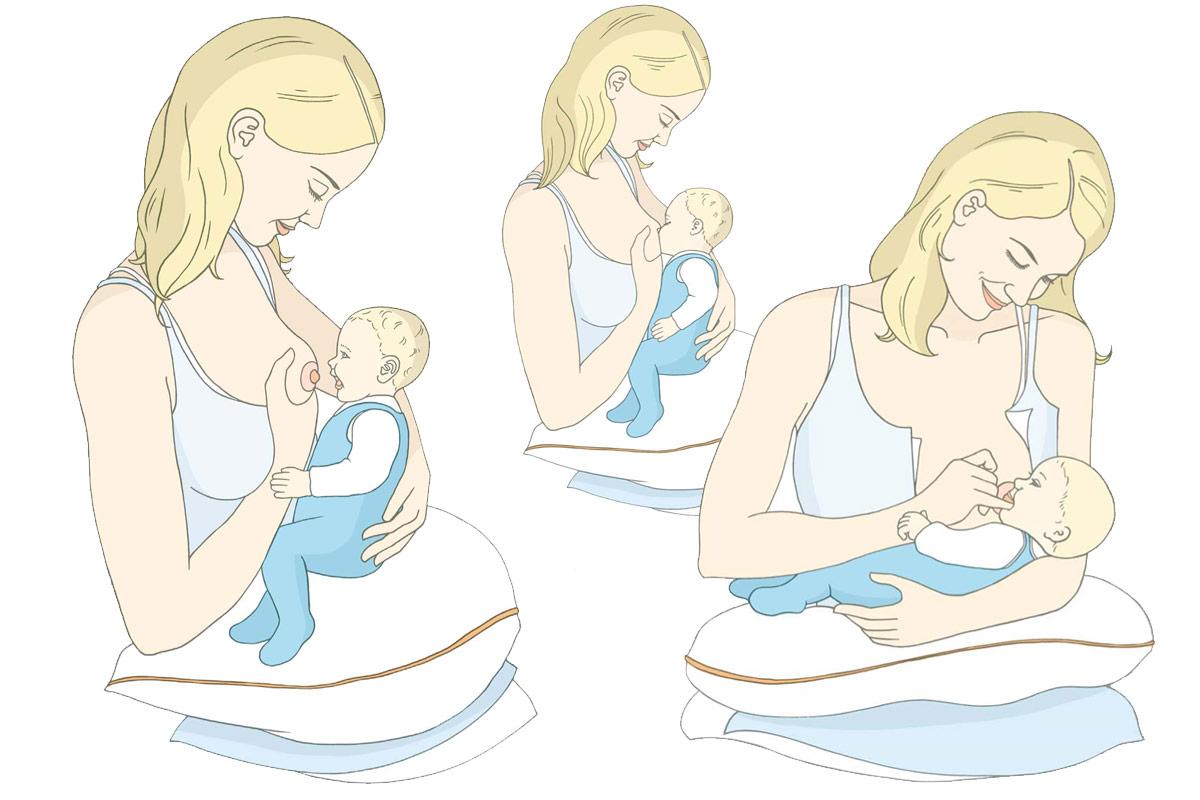 Baby anlegen im C-Giff