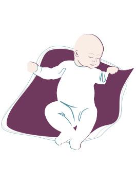 Baby-Entwicklung: 2. Monat
