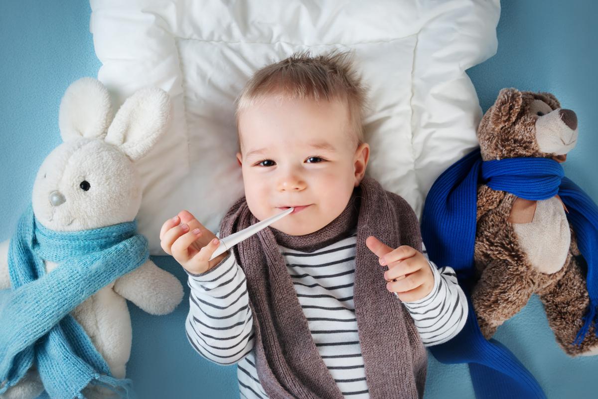 Baby Erkältung: Wenn die Kleinsten Schnupfen und Halsweh haben