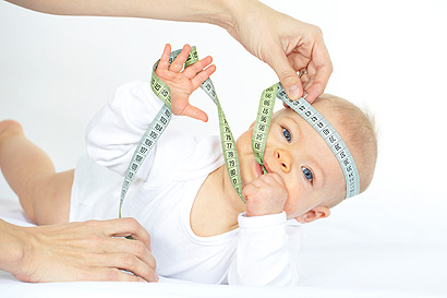 Baby Größentabellen für Kleidung