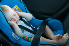 Hitze im Auto: Lebensgefahr für Kinder