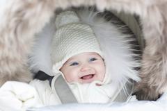Das Baby im Winter richtig anziehen