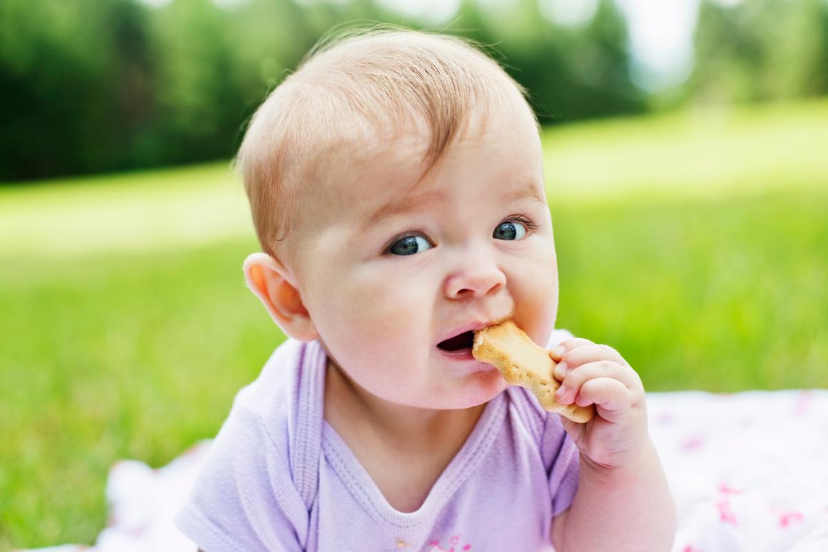Wie viel Süßes dürfen Babys?