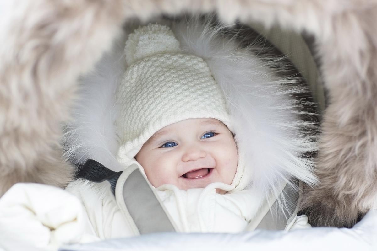 Baby im Winter anziehen