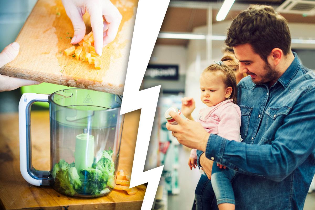 Babybrei: Kochen oder kaufen?