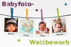 Babyfoto-Wettbewerb