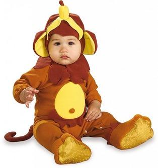 Faschingskostüme fürs Baby: Affe