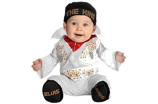 Faschingskostüme fürs Baby: Mini-Elvis