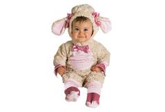Babykostüm: Rosa Lämmchen
