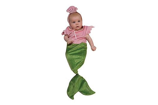 Faschingskostüme fürs Baby: Meerjungfrau