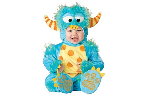 Faschingskostüme fürs Baby: Monster