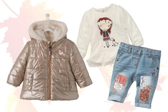 Baby-Jeans mit Flicken für Mädchen
