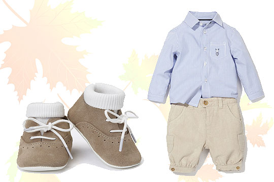 Babymode Herbst 2014: Baby-Outfit a la Prinz George