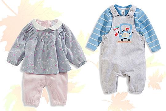 Babymode Herbst 2014: Baby Sets Für Mädchen Und Jungen