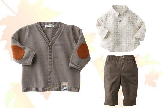 Babymode Herbst 2014: 3-teiliges Jungen-Set