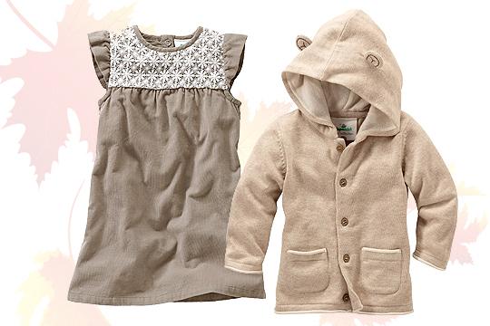 Baby-Kleidchen aus feinem Cord