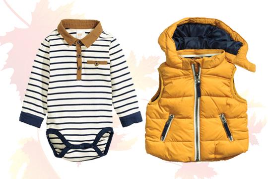 Online-Shop ce907 32662 Babymode Herbst 2015: Langarmbody und Weste von H&M - Bilder ...