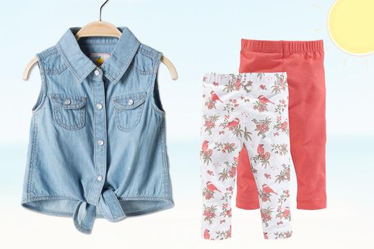 Jeansbluse von C&A für Babys
