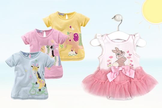 """Miss Bunny"" Baby-Body von Disney"