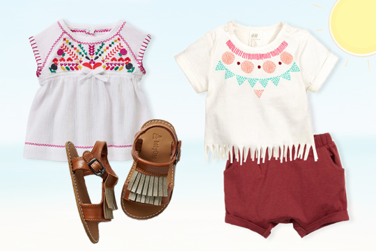 Festival-Chic für Baby-Mädchen