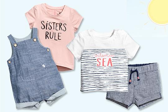 Sommermode für Babys von H&M