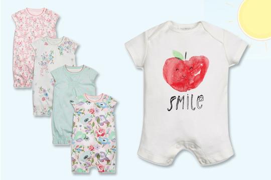 Aktuelle Sommermode für Babys