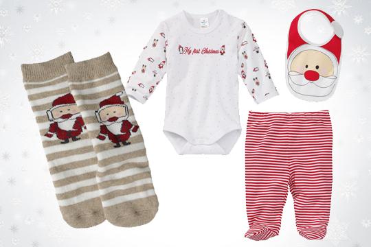 Weihnachtliches Newborn-Set
