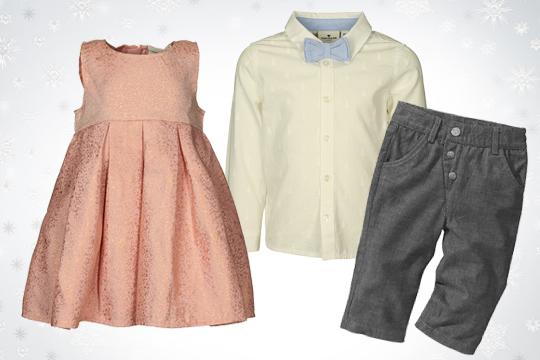 Babydoll Kleid in Altrosa