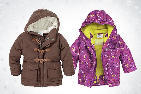 Babymode Winter 2014: Winterjacken für Babys