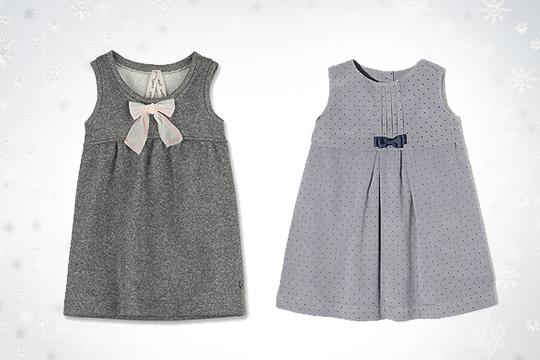 Babymode Winter 2014: Elegante Babykleider fürs Fest