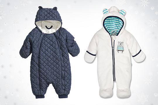 Babymode Winter 2014: Winteroveralls für Babys