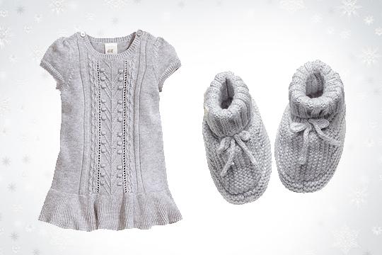 Babymode Winter 2014: Stricksachen für Mädchen